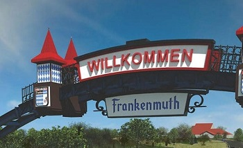 welcome-to-Frankenmuth-sign-TRI-Bavaria-weekend Event