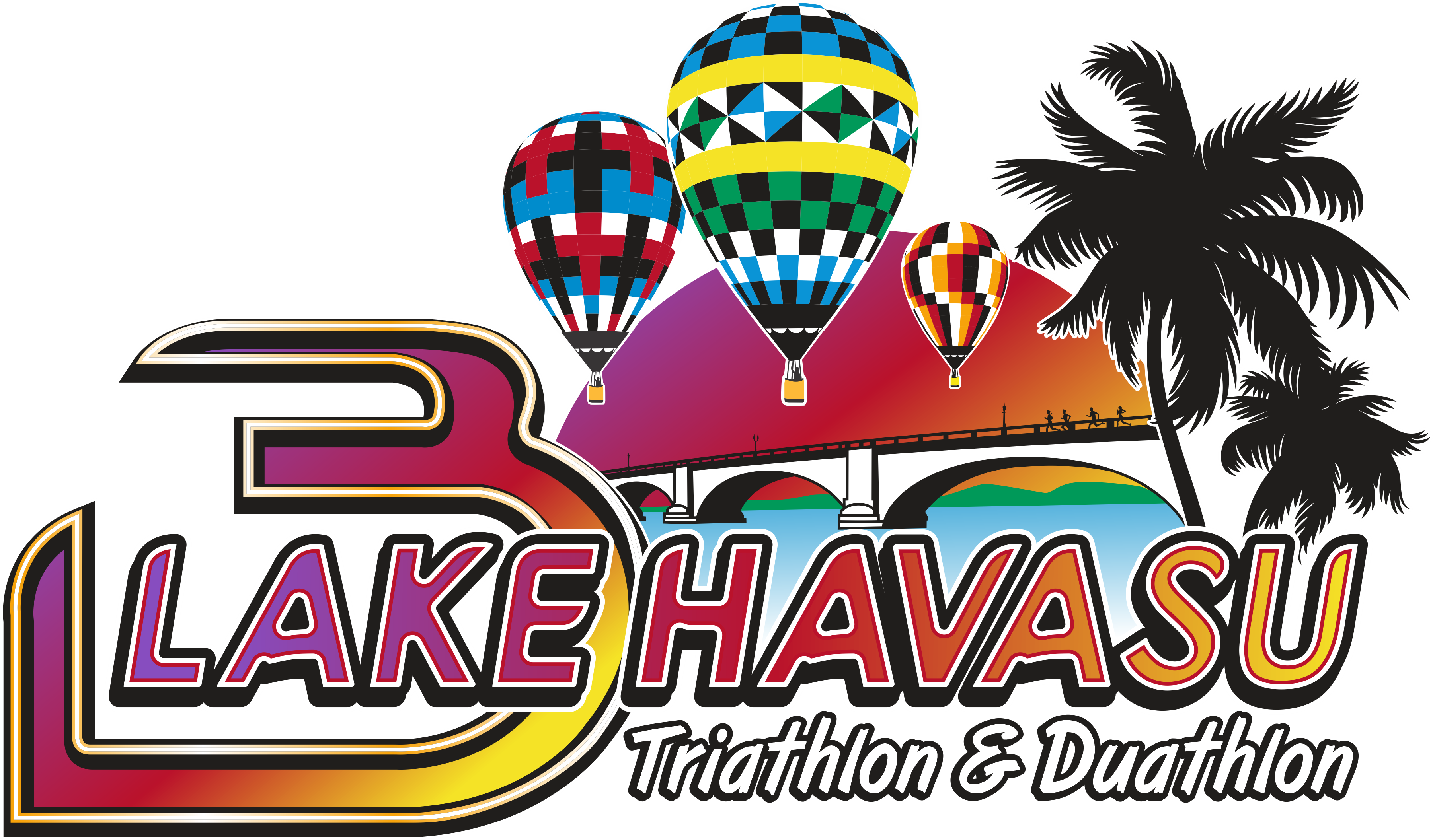 3-Disciplines-Lake-Havasu-Triathlon Lake Havasu Triathlon and Duathlon